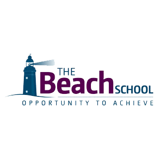 The Beach School logo
